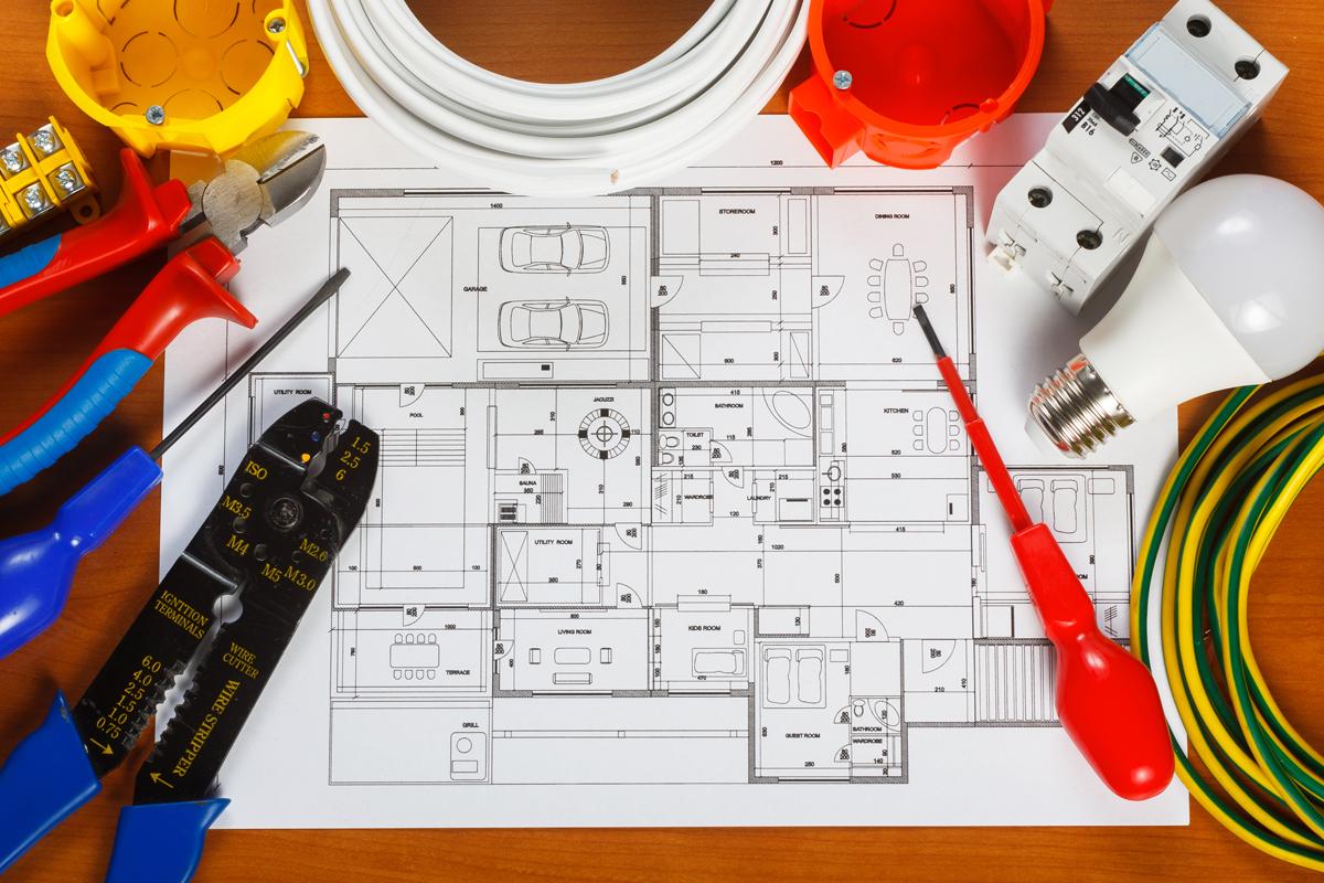 Electricité générale - Schéma électrique maison
